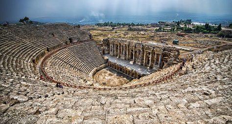 Античный город Сиде, водопад Манавгат иорнаменты мечети Кулийе