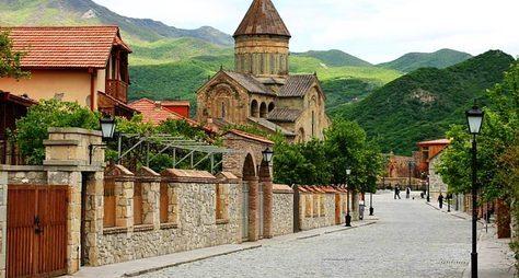 Монастырь Джвари, конная прогулка иулицы старого Тбилиси