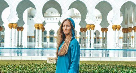 Чарующий Абу-Даби ипрофессиональные фотографии