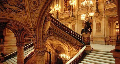 Опера Гарнье. Загадочная ивеликолепная