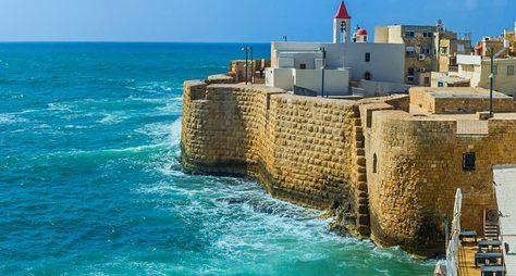 Насевер Израиля— Кейсария, Хайфа, Акко