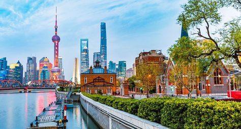 Все краски Шанхая