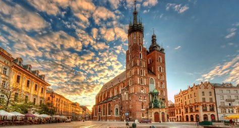 Уикенд вЕвропе! Краков, Прага, Вена иБудапешт