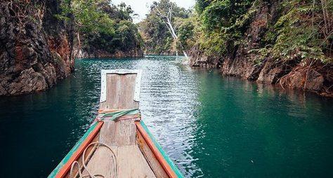 Озеро Чео Лан, или тайландский «Аватар»