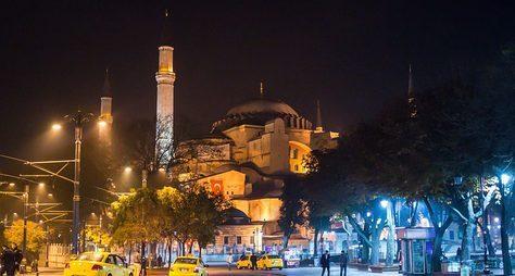 Очарование вечернего Стамбула