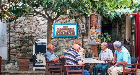 Что едят греки? Гастро-прогулка вАфинах