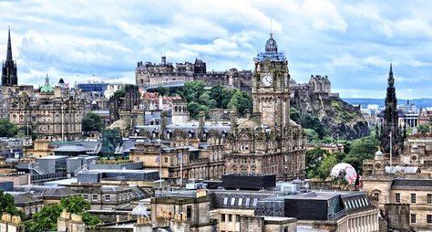 Эдинбург иего замок: обзорная прогулка