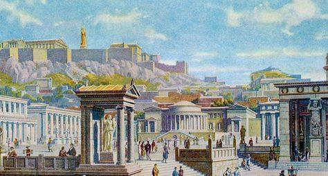 Панафинейский путь: все самое главное обантичных Афинах