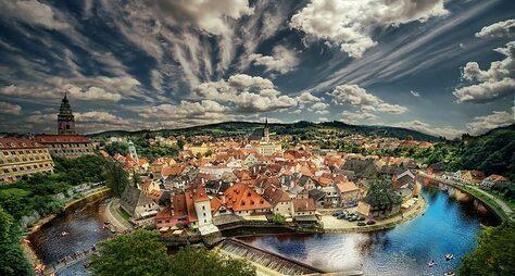 Чешский Крумлов. Красота запределами Праги