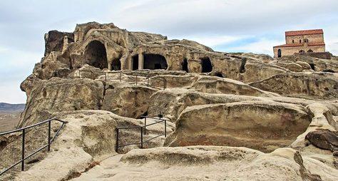 Древняя Мцхета идоисторический Уплисцихе