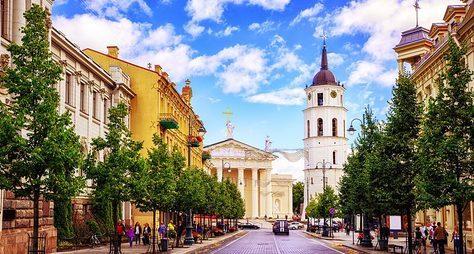 Вильнюс— прошлое инастоящее