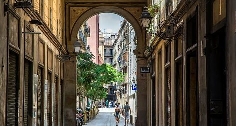 Легенды старинной исовременной Барселоны