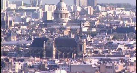 Париж. Золотой глобус