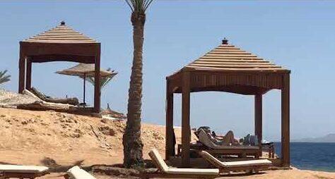 Отель Monte Carlo Sharm El-Sheikh Resort 5*. Пляж