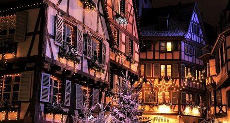 Кольмар— рождественская сказка