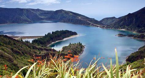 Озёра ивулканы наострове Сан-Мигель