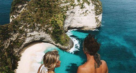 Крайским пляжам западной Нуса-Пениды