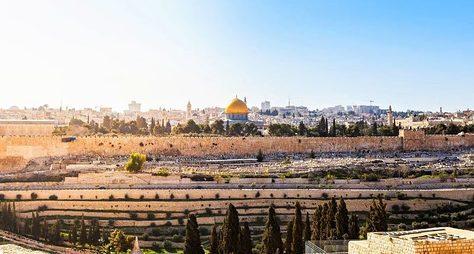 Онлайн-прогулка поИерусалиму: Масличная гора