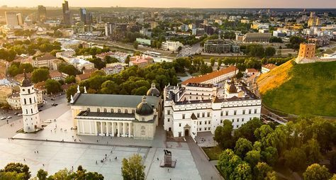 Вильнюс— путешествие вовремени