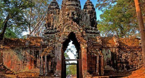 Онлайн-прогулка вКамбодже «Ангкор-Тхом— столица грозной империи кхмеров»