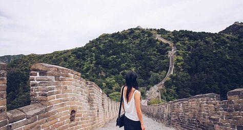 Великая Китайская стена ичайный рынок Маляньдао