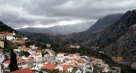 Многоликая Ханья икрасоты западного Крита
