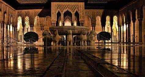 Альгамбра вобъятьях ночи