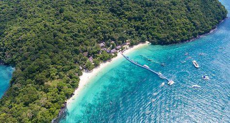 Остров Корал: море, море иеще раз море!