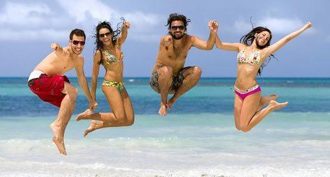 Морские развлечения нанеобитаемом острове КоПай