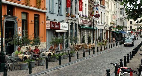 Ежедневная прогулка поБрюсселю