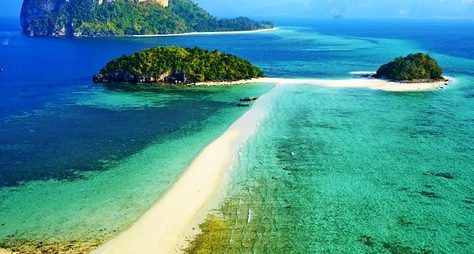Четыре острова Краби