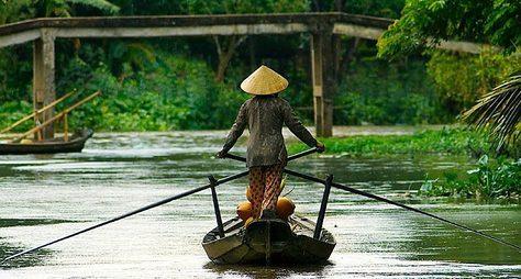 Настоящий Вьетнам вдельте реки Меконг