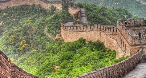 Великая Китайская стена ипогружение вкультуру Поднебесной