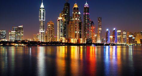 Ночной Дубай: обзорная экскурсия ипрогулка накатере