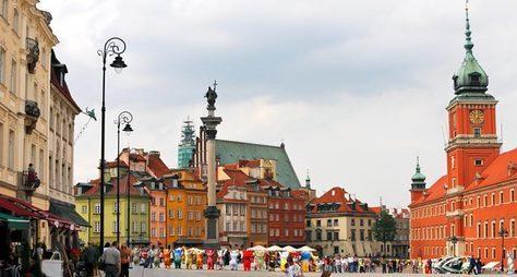 Weekend вВаршаве
