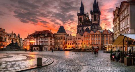 Пражская конфетка Прага, Карловы Вары, Замок Штейнберг, Дрезден