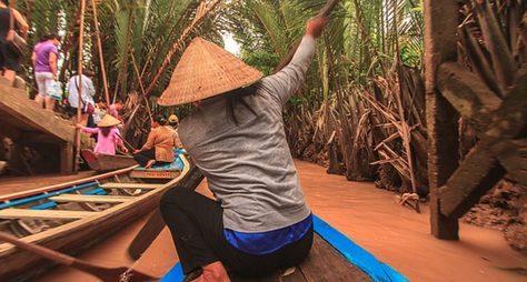 Меконг иплавучие рынки