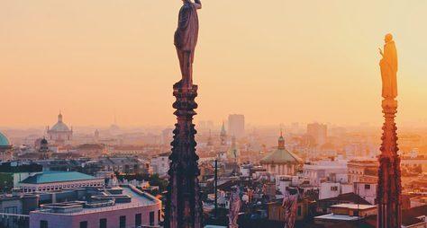Милан: мне сверху видно всё!