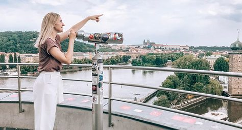 Прага свысоты