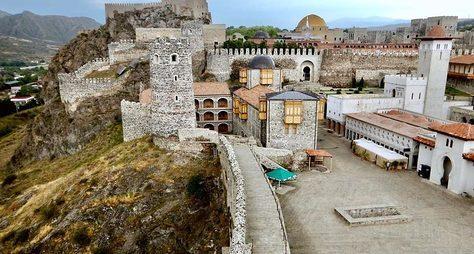 ИзТбилиси вБоржоми икрепость Рабат