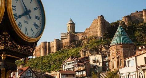 Тбилиси вчера исейчас