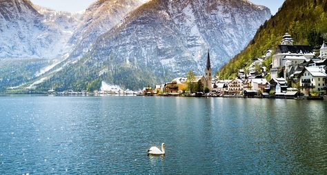Гальштат— альпийская открытка