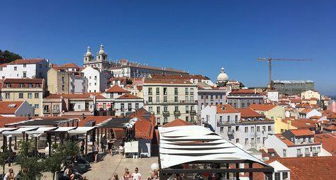 Посеми холмам Лиссабона!