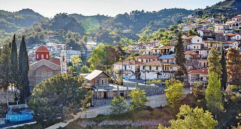 Погорным деревушкам Кипра