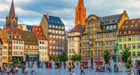 Страсбург— самый оживлённый перекрёсток Европы
