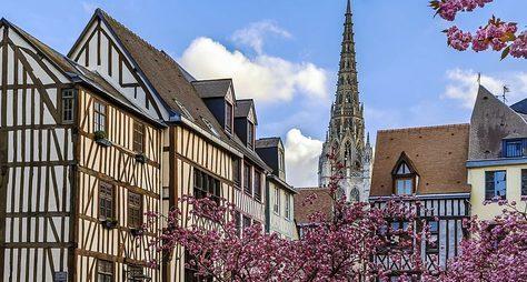 Руан— средневековые врата вНормандию