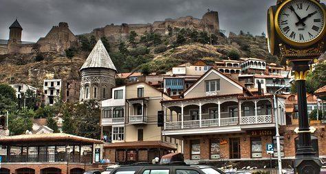 Обзорная автомобильная экскурсия поТбилиси