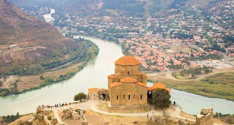 Великолепный Джвари иалтарь Грузии— Мцхета