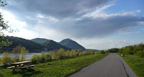 Велопрогулка вдоль Дуная квершине Леопольдсберг