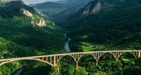 Большое путешествие насевер Черногории
